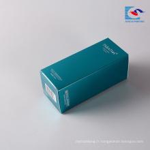 Sencai Vente chaude rectangle soins de la peau personnelle boîte d'emballage cosmétique