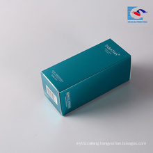 Sencai Hot sell rectangle personal skin care cosmetic packaging box