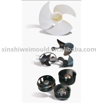 customization plastic injection molding service for cooing fan