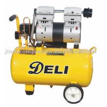 850W noiseless oil free air compressor