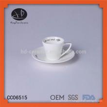 Nouveaux produits en gros tasses à thé / tasses en porcelaine à bas prix