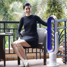 Chave-imprensa do diodo emissor de luz assoalho de 18 polegadas nenhuns refrigerador de ar do ventilador da torre das lâminas com controlo a distância
