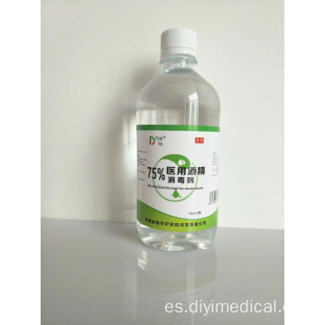 alcohol 500ml gel desinfectante antibacteriano para manos