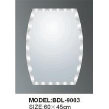Miroir en verre argenté épaisseur 5mm (BDL-9003)