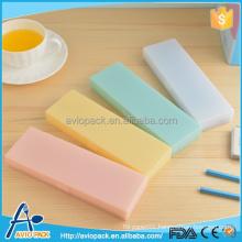 Customized colorful plastic pencil box