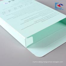 wholesale cheap personal care face mask paper makeup box