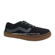 China Fábrica Homens Canvas Clássica Skate Injection Shoes (J2608-M)