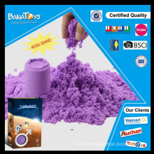Wholesale diy purple soft color sand toy