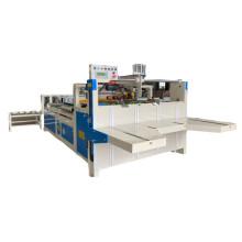 Semi auto gluer machine for corrugated paper box gluing