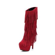 New Style Fashion Damen Overknee High Heel Stiefel (Y 25)