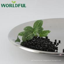 Ácido húmico cilíndrico / alto contenido de fertilizante orgánico añadido / Leonardita Exacting / for Agriculture
