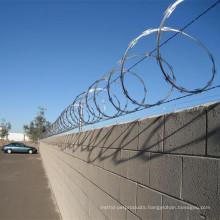Heavy Galvanized Razor Barbed Wire/Concertina Razor Wire Fence