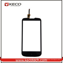 5.0 pulgadas de piezas de repuesto de teléfonos móviles de pantalla táctil digitizador de vidrio de reemplazo para Lenovo A770E Negro