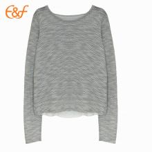 Split Back Style Fashion Sweater Designs para damas