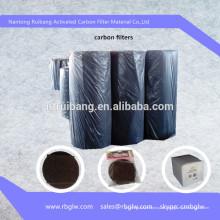 нетканые активированный уголь активированный уголь активный уголь волокна войлок для регенерации растворителей/обработка воды/ очистка воздуха/адиабатического