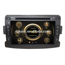 Wince 6.0 Manufacturer 7 '' Sistema de Reproductor de DVD Multimedia para Renault Logan / Sandero / Duster 2014 2015 USB SD DVB-T Venta Caliente