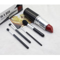 4Pcs Mini Lip Tube Augen Make-up Pinsel Set synthetisch