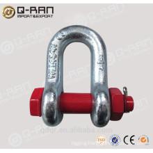 Galvanized Bolt type anchor shackle 2150 hardware rigging hardwear