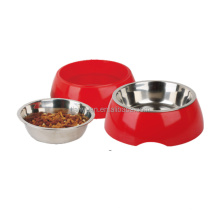 High Quality Custom Colorful Pet Dog Water Food Bowl with Stand