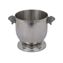 Cubo de hielo de fiesta personalizado de acero inoxidable de metal