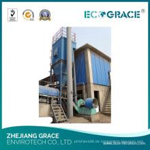 Industrial Chemical Dust Bag Filteranlage mit Lüfterfilter