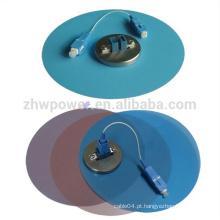 Fibra óptica colorida polimento filme, 1um 3um 9um fibra lapping filmes com 127 milímetros de diâmetro