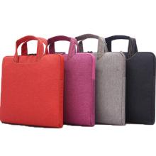 2015 venda quente nova Design poliéster saco do portátil com logotipo personalizado