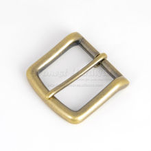 antique brass pin buckle