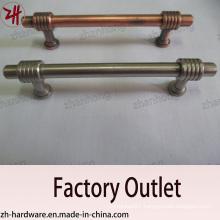 Door Handle, Zinc Alloy Pull, Archaize Handle, Cabinet Handle (ZH-1465)