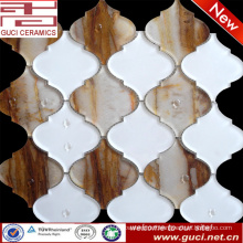 new material mixed Mosaic Glass Tiles in Acrylic design