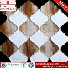 telhas de vidro misturadas materiais novas do mosaico no projeto acrílico