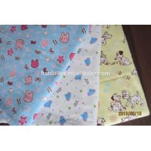 Bedruckte Baumwollflanellgewebe China Hersteller