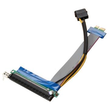 Carte de montage PCI-E à câble plat