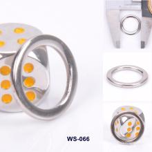 Customized Eco-Friendly Zinc Alloy Metal Wear Ring Flat Ring
