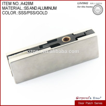 304 stainless steel glass door patch fitting