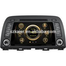Medios del coche de alta definición del sistema del respingo del precio de choque para Mazda 2014 6 / CX-5 con Bluetooth / IPOD / GPS / 3G