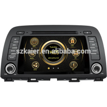 Шок цена вздрагивания системы высокой четкости автомобиля мультимедиа для 2014 Mazda 6/СХ-5 с Bluetooth/док/ГПС/3Г