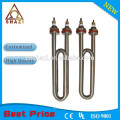 U type portable installation spiral heater and heating element