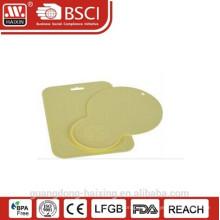 Желтая разделочная доска, разделочные доски, пластиковая посуда