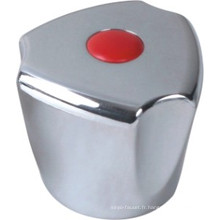 Poignée de robinet en plastique ABS avec finition chromée (JY-3003)