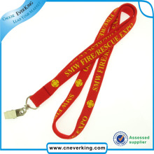 Fashion Comfortable Printed Tube Lanyard