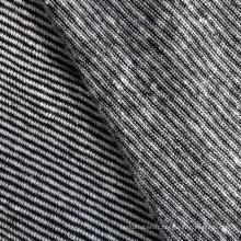 Tissu tricoté au fil de chanvre / coton