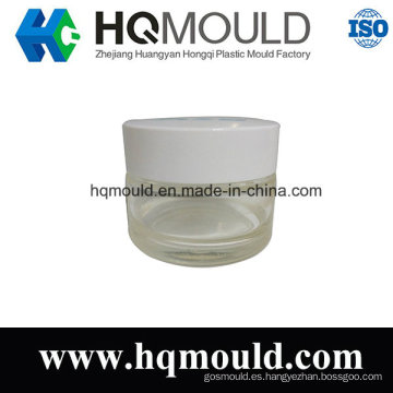 Herramienta de inyección de plástico para envases cosméticos puede moldes de plástico