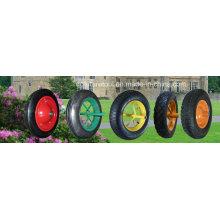 Pneumatique en caoutchouc / solide / roue de mousse d'unité centrale, roue de brouette pneu de pneu 3.50X8 3.50-8 16X4.80 / 4.00-8 4.10 / 3.50-4 3.25 / 3.00-8 3.50-6