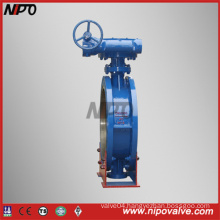 Cast Steel Flanged Triple Eccentric Butterfly Valve