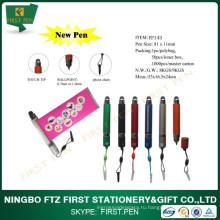 Мини-пластиковая ручка для штрих-кодов с телефонной цепочкой