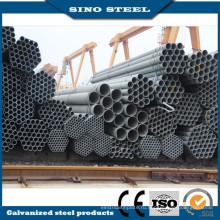 Низкая цена ASTM A106 Большой диаметр оцинкованной стальной трубы черного цвета