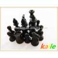 Luxury Schach Set Pack in Riemen Zylinderpaket