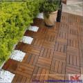 Azulejo de madeira de jardim, alta qualidade do Vietnã
