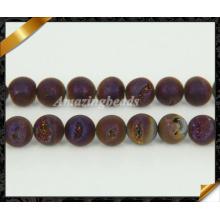 Бусины из драгоценных камней Друзи из титана с покрытием (YAD038)